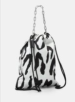 Just Cavalli Casual Style Elegant Style Shoulder Bags