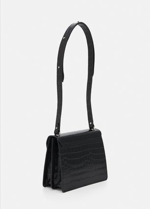 Casual Style 2WAY Plain Office Style Shoulder Bags