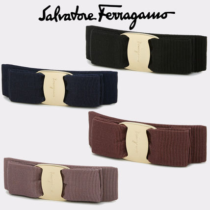 Salvatore Ferragamo Barettes Blended Fabrics Party Style Office Style