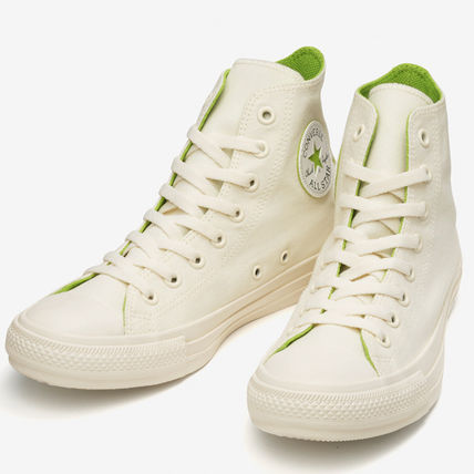 CONVERSE ALL STAR Star Rubber Sole Casual Style Unisex Street Style Plain Logo