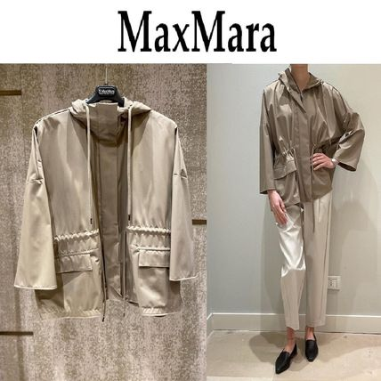 MaxMara Parka In Water-Resistant Technical Fabric