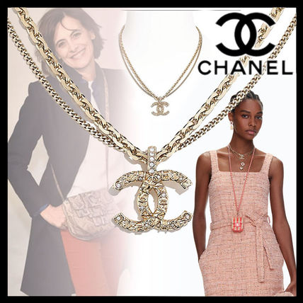 CHANEL Casual Style Chain Party Style Elegant Style