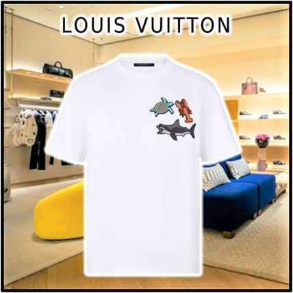 Louis Vuitton More T-Shirts Beads Animals And Monogram Tee