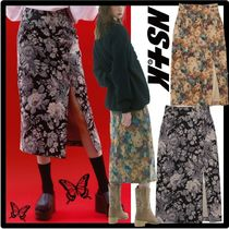 NASTY FANCY CLUB Casual Style Street Style Skirts
