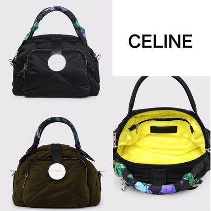 DIESEL Casual Style Street Style 2WAY Plain Leather Elegant Style