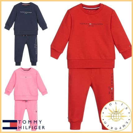 Tommy Hilfiger Co-ord Unisex Street Style Baby Girl Tops