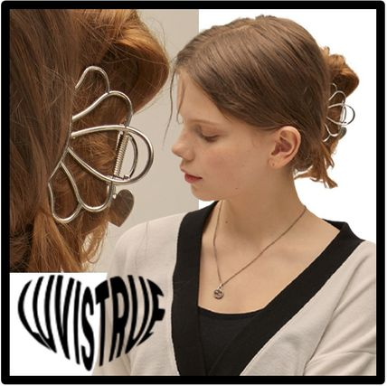 LUV IS TRUE Casual Style Street Style Hair Accessories
