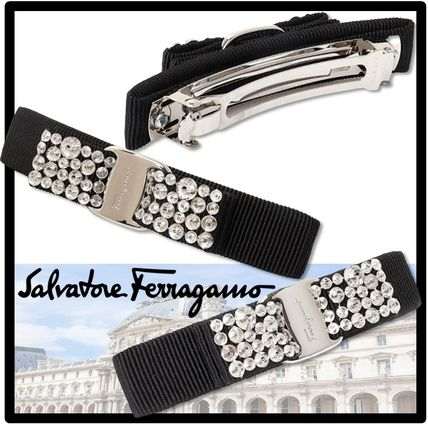 Salvatore Ferragamo Casual Style Street Style Formal Style  Hair Accessories