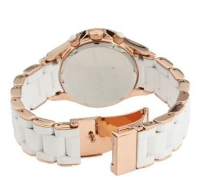 Marc by Marc Jacobs Casual Style Leather Round Party Style Quartz Watches