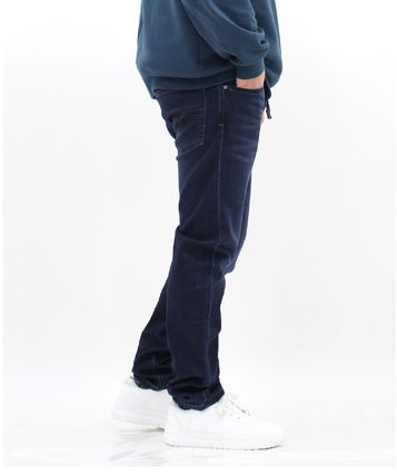 DIESEL JOGG JEANS Tapered Pants Denim Street Style Tapered Pants