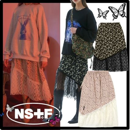 NASTY FANCY CLUB Casual Style Skirts