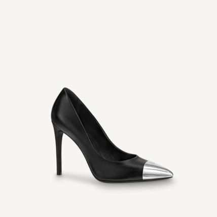 Louis Vuitton Pin Heels Party Style Elegant Style Stiletto Pumps & Mules