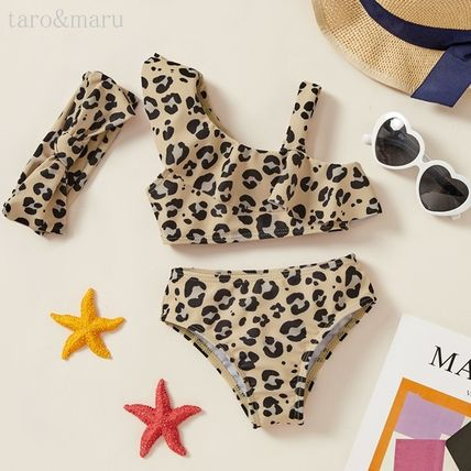 PatPat Asymmetry Baby Girl Swimwear