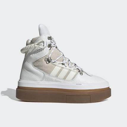 adidas Platform Rubber Sole Casual Style Collaboration Street Style