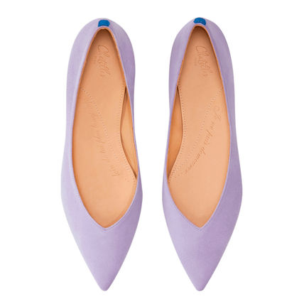 Rubber Sole Casual Style Leather Office Style Formal Style