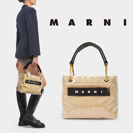 MARNI Formal Style  Logo Casual Style Plain Party Style
