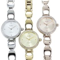 Coach Casual Style Round Quartz Watches Jewelry Watches Stainless