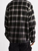 AMIRI Shirts Button-down Other Plaid Patterns Street Style Long Sleeves 5