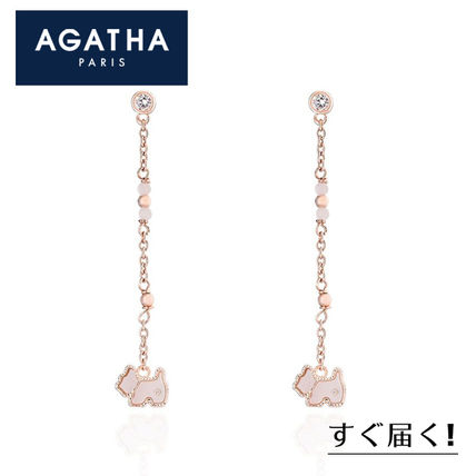 Casual Style Animal Chain Silver Office Style Elegant Style