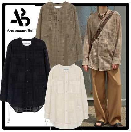 ANDERSSON BELL Shirts Unisex Street Style Shirts