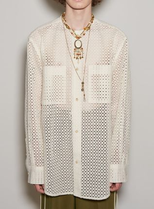 ANDERSSON BELL Shirts Unisex Street Style Shirts 2