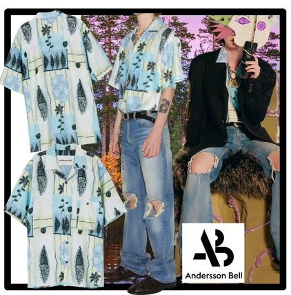 ANDERSSON BELL Shirts Unisex Street Style Printed Shirt Shirts