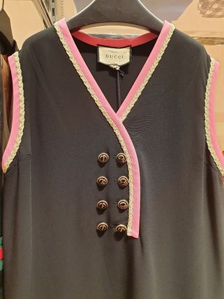 GUCCI Viscose Top With Buttons