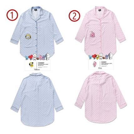 BT21 Stripes Cotton Lounge & Sleepwear