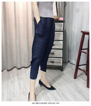 Casual Style Long Party Style Elegant Style Sarouel Pants