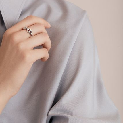 HERMES Chaine dAncre Chaine D'Ancre Enchainee Ring, Small Model