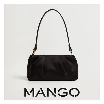 MANGO Casual Style Party Style Elegant Style Party Bags