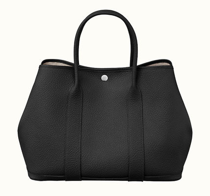 HERMES Plain Party Style Formal Style  Party Bags
