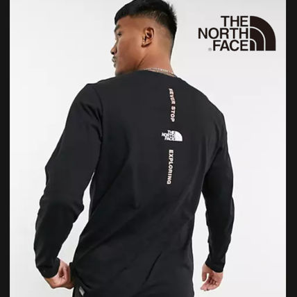THE NORTH FACE Long Sleeve Street Style Long Sleeves Long Sleeve T-shirt Logo Outdoor