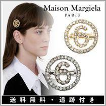 Maison Margiela Barettes Star Initial Street Style Party Style Silver Brass