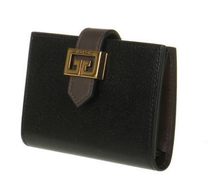 GIVENCHY GV3 Plain Logo Card Holders