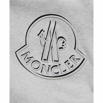 MONCLER Sweatshirts Crew Neck Pullovers Street Style Long Sleeves Cotton Logo 5