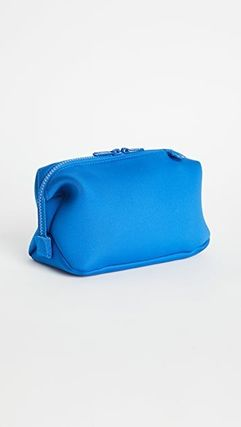 Unisex Street Style Plain Logo Pouches & Cosmetic Bags