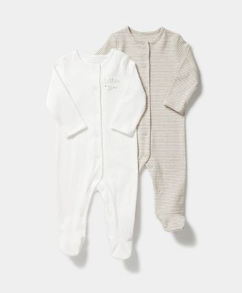 Unisex Organic Cotton Baby Girl Dresses & Rompers