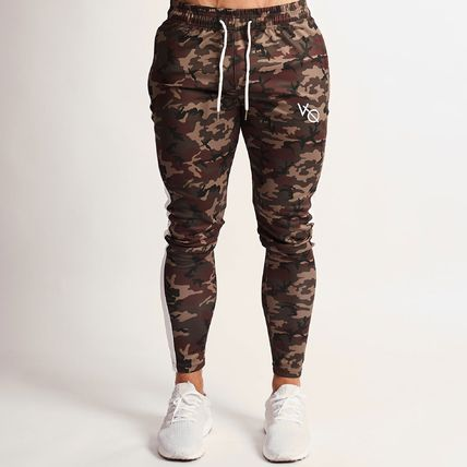 VANQUISH FITNESS Tapered Pants Camouflage Sweat Tapered Pants