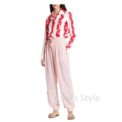 Louis Vuitton Casual Style Plain Long Pants