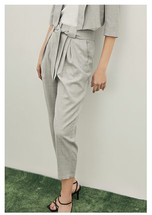 Casual Style Party Style Office Style Pants