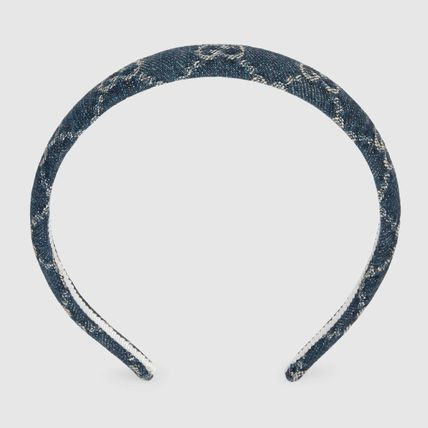 GUCCI Gg Multicolor Canvas Hair Band