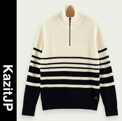 Wool Long Sleeves Surf Style Sweaters