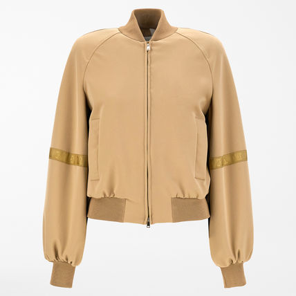 MaxMara Technical Jersey Bomber Jacket