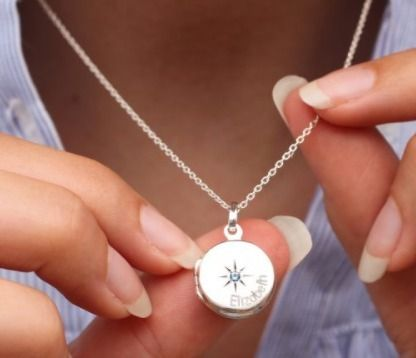 Costume Jewelry Casual Style Initial Silver Office Style