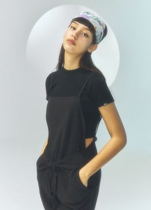 citybreeze Dungarees Casual Style Street Style Plain Long Office Style