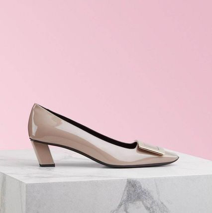 Roger Vivier Formal Style  Casual Style Plain Leather Party Style