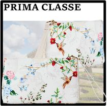 PRIMA CLASSE Unisex Street Style Logo Pouches & Cosmetic Bags