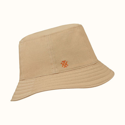 HERMES Unisex Bucket Hats Keychains & Bag Charms