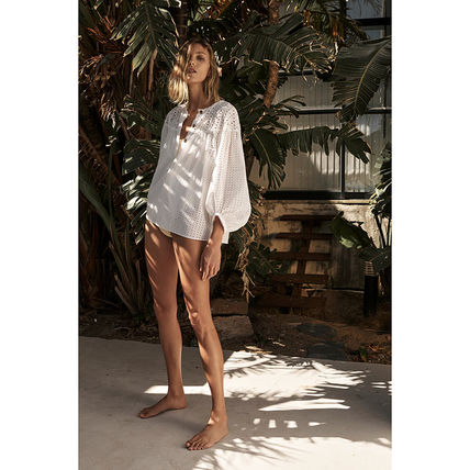 ZARA Casual Style Party Style Shirts & Blouses